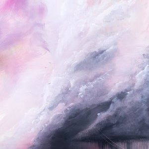 Painting of a storm