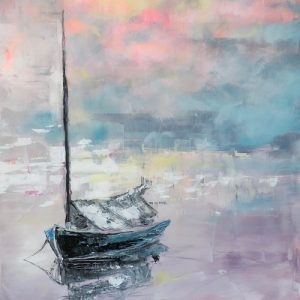 Painting of sailboat